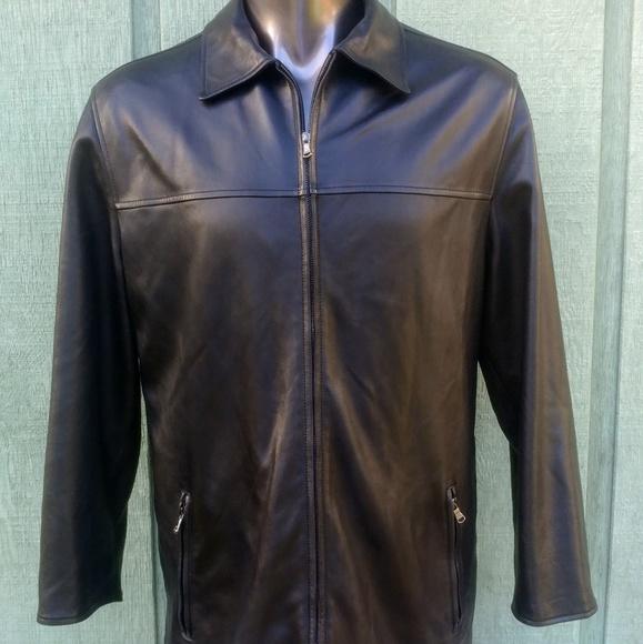 2c953abf Ermenegildo Zegna Reversible Men's Leather Jacket